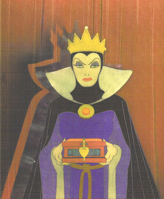 vintage disney animation art and disney celsDisney Evil Queen Song